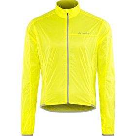 VAUDE Air III Jas Heren, canary